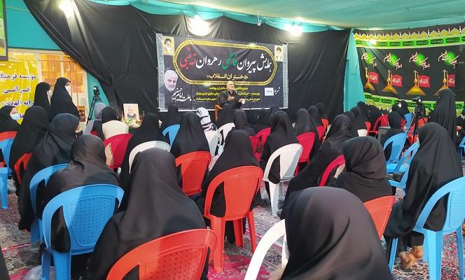دومین همایش پیروان فاطمی ،رهروان زینبی در اندیمشک برگزار شد.