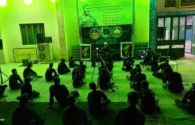 مراسم شب شهادت امام رضا ع در دوکوهه اندیمشک برگزار شد / گزارش تصویری