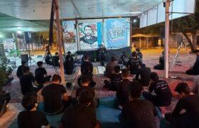 گزارش تصویری مراسم شب شهادت امام عسکری (ع) در گلزارشهدای اندیمشک