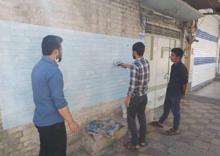 """پویش دیوار نویسی خانگی """" یا صاحب الزمان ادرکنی – یا ابا صالح المهدی ادرکنی  """" – سال ۱۳۹۹"""