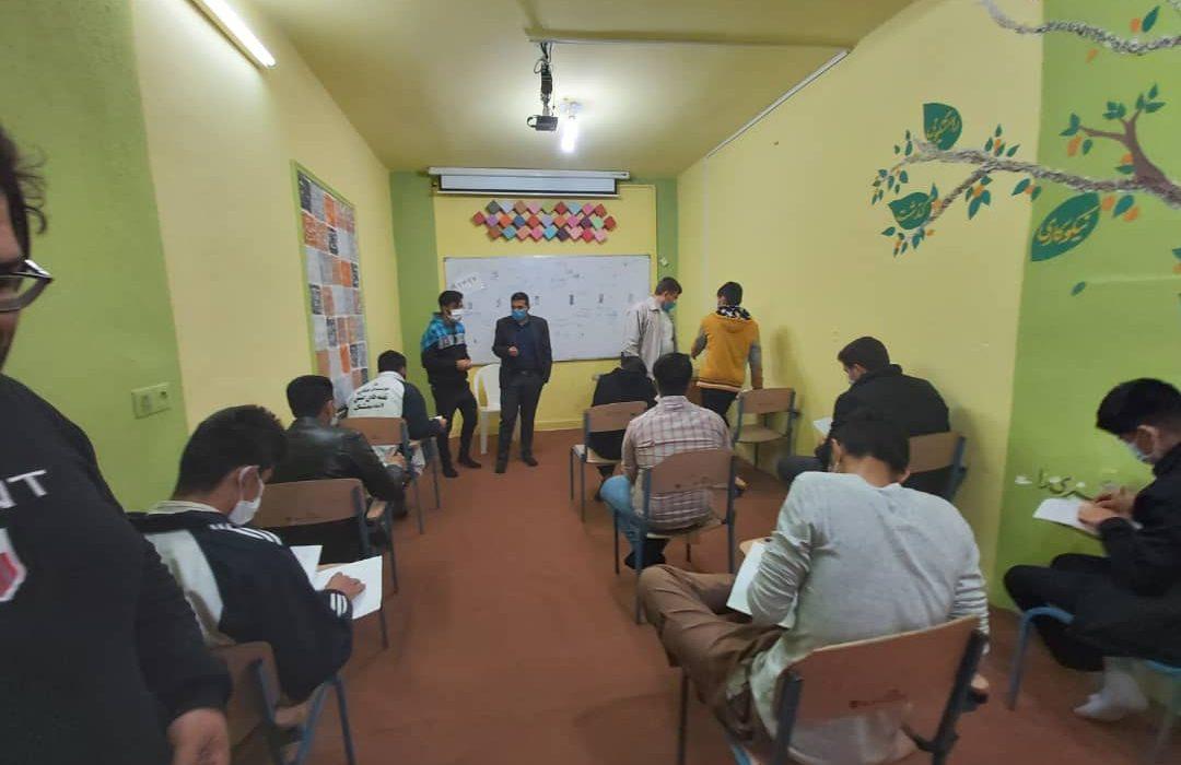 گزارش تصویری اولین آزمون ورودی گروه پسران بهشت اندیمشک