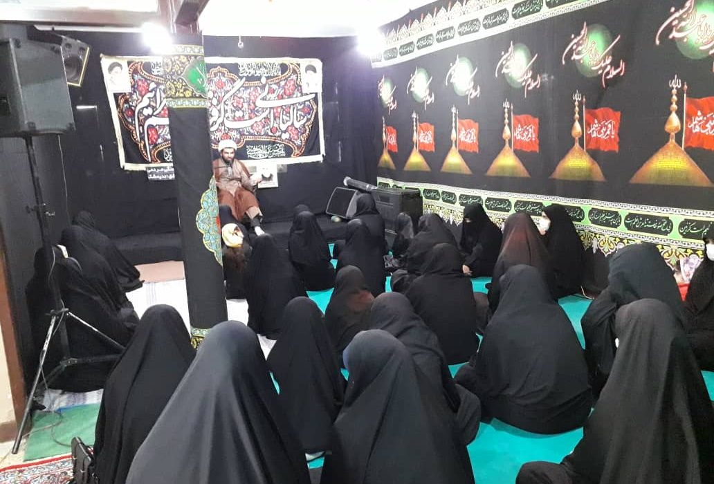 گزارش تصویری مراسم دختران حاج قاسم در اندیمشک