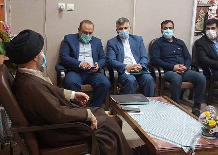 دیدار با امام جمعه شهرستان اندیمشک به مناسبت عید مبعث