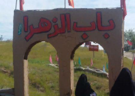 حضور دختران اندیمشکی در یادمان شهدای فتح المبین / دهه مهدویت ۱۴۰۰