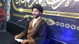 مراسم هفتگی انس با امام زمان عج و شهدا در اندیمشک + حجه الاسلام سید علی فاضلی