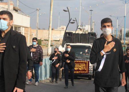 گزارش تصویری عزاداری گروه پسران بهشت اندیمشک در فاطمیه ۱۳۹۹