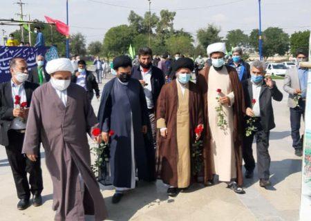 گزارش تصویری جشن ولادت امیرالمومنین علی علیه السلام در اندیمشک