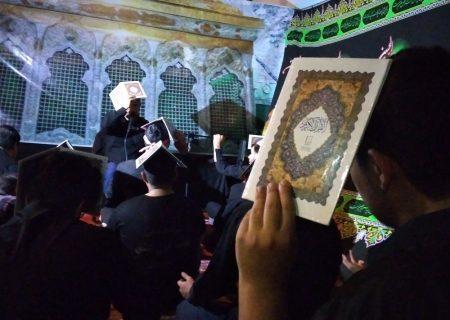 مراسم شب های قدر و شهادت امیرالمومنین علی علیه السلام در اندیمشک برگزار شد.