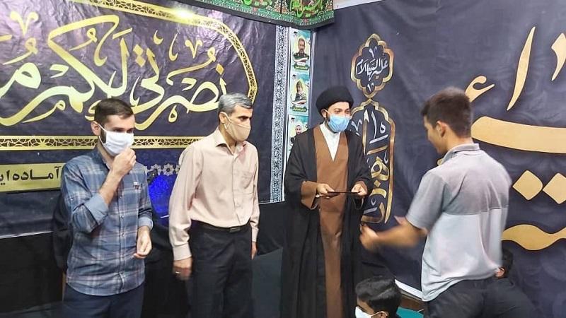 گزارش تصویری مراسم  هفتگی انس با امام زمان عج و شهدا در اندیمشک