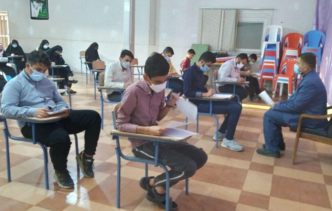 نفرات برتر آزمون کتاب های معارف مهدوی شهرستان اندیمشک
