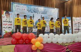 گزارش تصویری جشن سالروز آغاز امامت امام زمان عج در اندیمشک + سال ۱۴۰۰